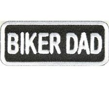 "BIKER DAD MOTORCYCLE BIKER TRIKE PATCH 3"" x 1.25"""