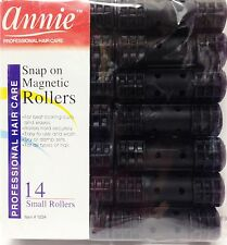 "ANNIE SNAP ON MAGNETIC ROLLERS 14 SMALL ROLLERS #1234 1/2"" DIAMETER"