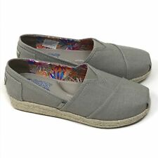 NEW Skechers BOBS Women's Highlights Flexpadrille Wedge Taupe Size 9.5
