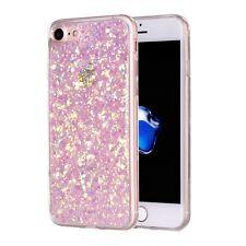 Softcase Hülle Case Cover in Glitter Glitzer Power pink rosa für iPhone 7 & 8