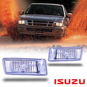 Front Clear bumper Fog Light lamp Rodeo Denver Pickup spot For Isuzu Dmax 02-05