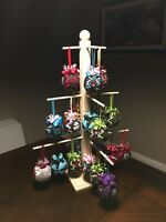 ornament display tree stand