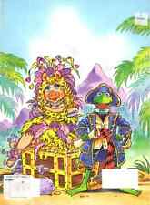 VINTAGE 1995 MUPPET TREASURE ISLAND COLORING BOOK BY GOLDEN