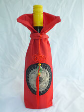 Wholesale 5pcs Handmade Embroidered Chinese Class Cloth Wine Bottle Covers 1201