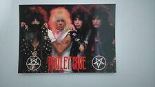 Motley Crue group vintage music postcard POST CARD