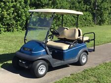 2012 blue Club Car Precedent 4 seat passenger 48v 48 volt Golf Cart lights