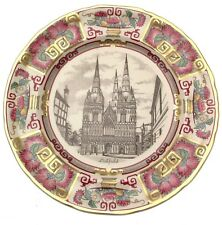 Masons Christmas 1981 plate Lichfield Cathedral CP370