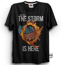 Qanon WWG1WGA Q Anon The Storm Is Here Patriotic Men's T-Shirt