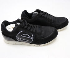 SPARCO GENESIS SHOES Mens Black Racing Crew Shoes Casual Low Top Sneakers NEW