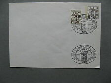 GERMANY BERLIN, privat ill. prestamped cover 1980 CTO, twin franking Wolfsburg