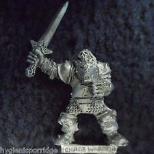 1988 caos guerriero spada 10 GAMES WORKSHOP WARHAMMER ESERCITO EVIL orde FIGHTER GW