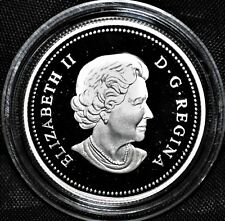 Uncrowned Portrait - 2004 Canada 50 cents Commemorative Silver Coin NO CASE