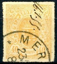 Luxembourg Issue of 1865 40 Centimes Postally Used Scott's 25