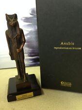 statuette bronze - Anubis - éditions Atlas