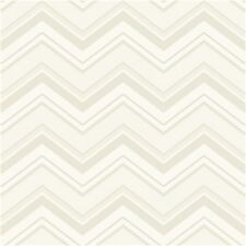 Ashford House Multi Beige Tone Chevron Stripes Wallpaper AB2151