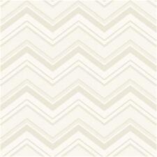 Ashford House Multi Beige Tone Chevron Stripes Wallpaper AB2151