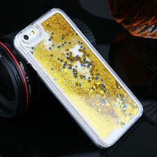 Luxury Glitter Star Liquid Back Phone Case Cover for Apple iPhone 5S 5C 6S 7Plus