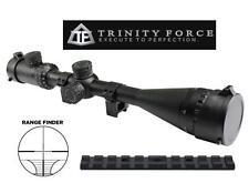 Trinity 8-32x50 Tactical Rangefinder Tri-Illuminated + Remington 597 Mount Kit