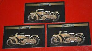 ★★3-1919 HARLEY DAVIDSON FLAT TWIN SPORT MODEL PHOTO MAGNETS PRINT 19★★
