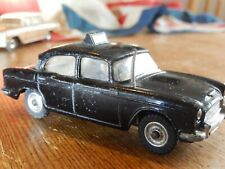 DINKY TOYS HUMBER HAWK  BLACK POLICE CAR WITH AERIAL MECCANO LTD