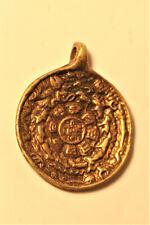 Älteres  tibetisches Amulett Kalender Monatstiere Glückszeichen