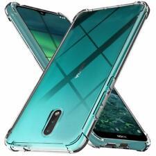 Nokia 2.3, funda protectora de silicona, funda protectora para teléfono móvil, funda protectora, funda [protección de bordes]