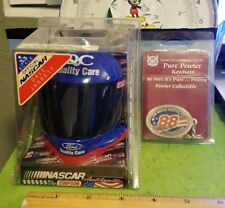 Nascar Dale Jarrett Lot New Simpson Mini Helmet Pure Pewter Keychain