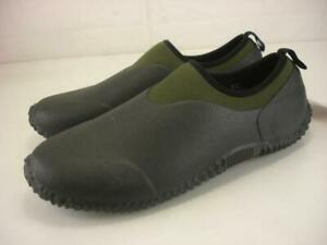 Men's 10 M Habit Mudd Muckster Low Green Waterproof Gardening Shoes Slip-On NEW