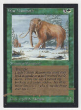 Gold Signed War Mammoth LP Collector's Edition Artist Jeff A. Menges MTG Magic!