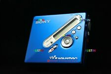SONY MZ N710 MD  MINIDISC WITH SHARP MICROPHONE, BATTERIES..
