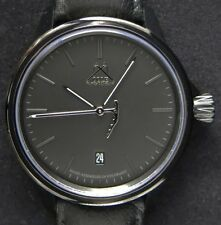Cole Watch Company Pyrenees silver on black ETA 2824-2