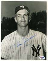 Bobby Richardson Psa/dna Coa Hand Signed 8x10 Photo Authentic Autograph