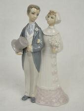 Lladro Daisa Porcelain Wedding Bride Groom Figurine Spain 04808
