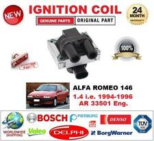 FOR ALFA ROMEO 146 1.4 i.e. 1994-1996 AR 33501 IGNITION COIL 2 PIN CONNECTOR