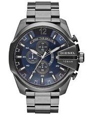 DIESEL Uhr DZ4329 MEGA CHIEF Herren Chronograph Edelstahl Grau Armbanduhr NEU
