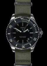 MWC Tritium GTLS Military Divers Watch with Sapphire Crystal and 10 Year Battery