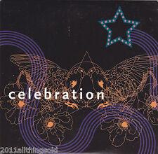 CELEBRATION~New Skin (song) & War (video) ORIG 2005 PROMO indie rock CD RARE