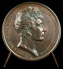 Médaille Rouget de Lisle hymne patriote Partition musicale la Marseillaise Medal