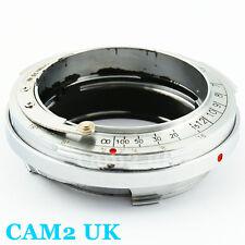 Contax Rangefinder RF CRF Lens to Leica M mount L/M 6-bit code adapter M8 M9 M-E