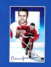 1992 Legends of Hockey Series 1 Card # 17 NORMAN V.A. ULLMAN HOF AUTOGRAPHED