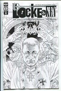 LOCKE & KEY ...IN PALE BATTALIONS GO... #2 GABRIEL RODRIGUEZ VARIANT COVER  1/10