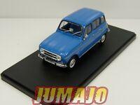 4L16F Voiture hachettes 1/43 IXO Renault R 4 L : 4 Export 1968