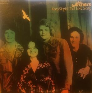 THE ARCHERS Keep Singin' That Love Song Impact Records LP (US Press) R3224