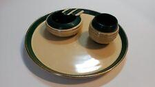 Set da fumo ceramica anni '50 Pucci Umbertide composto da 3 pezzi