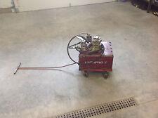 Enerpac Air over Hydraulic Pump 10K PSI on Pull Cart, BUYER PICKUP zip 61319