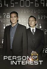 PERSON OF INTEREST Stagione 4 Serie Completa BOX 6 DVD in Inglese NEW .cp