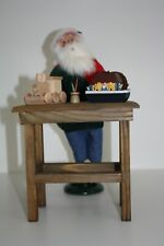 Byers Choice Santa and Workbench New