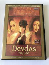 DEVDAS BOLLYWOOD ORIGINAL DVD ENHANCED ANAMORPHIC WIDESCREEN