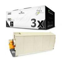 3x MWT Pro Toner Nero Per OKI C-711-DM C-711-CDTN C-710-N C-711-DN