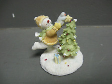 Snowman with Tree Decoration
